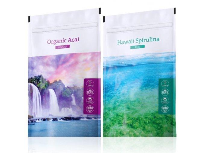 organic acai hawaii spirulina tabs
