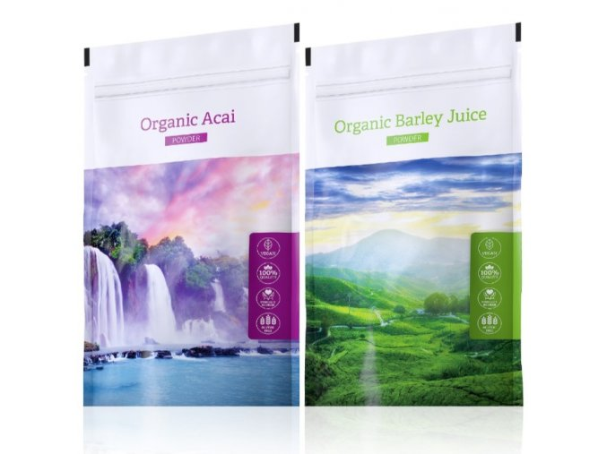 organic acai organic barley juice powder