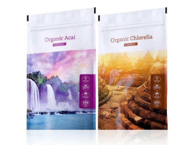 organic acai chlorella powder