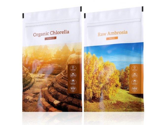 Organic chlerella powder raw ambrosia