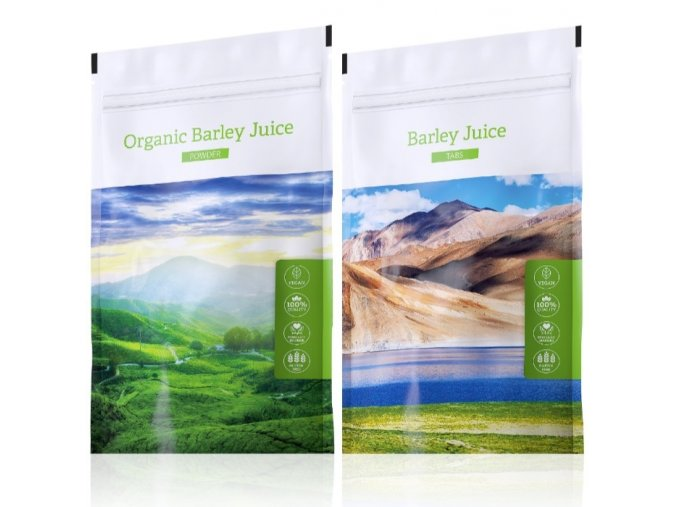 organic barley juice powder tabs