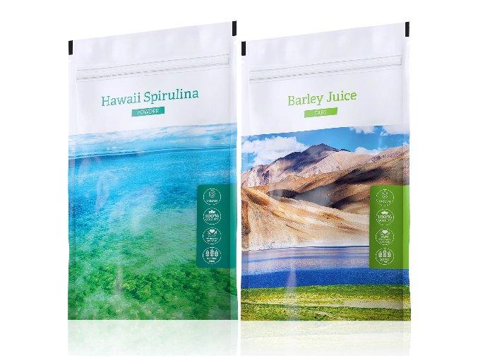 spirulina powder barley tabs