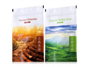 organic chlorella tabs barley juice powder