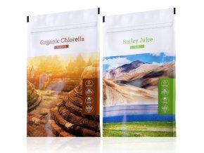 organic chlorella powder barley juice tabs