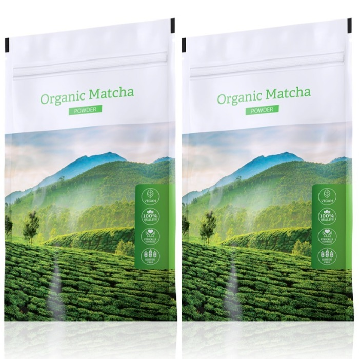 Energy Organic Matcha powder 50 g + Organic Matcha powder 50 g