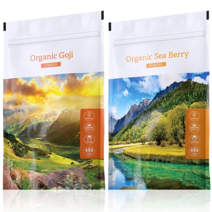Energy Organic Goji powder 100 g + Organic Sea Berry powder 100 g