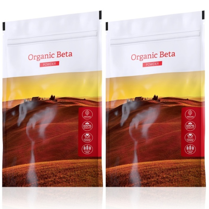 Energy Organic Beta powder 100 g + Organic Beta powder 100 g expirace do září 2019