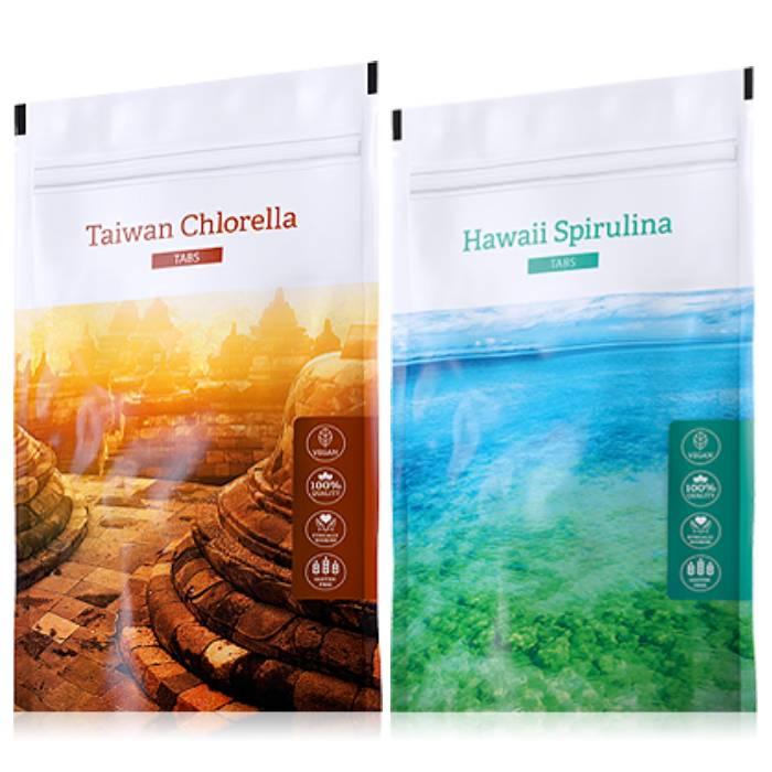 Energy Organic Chlorella tabs 200 tablet + Hawaii Spirulina tabs 200 tablet