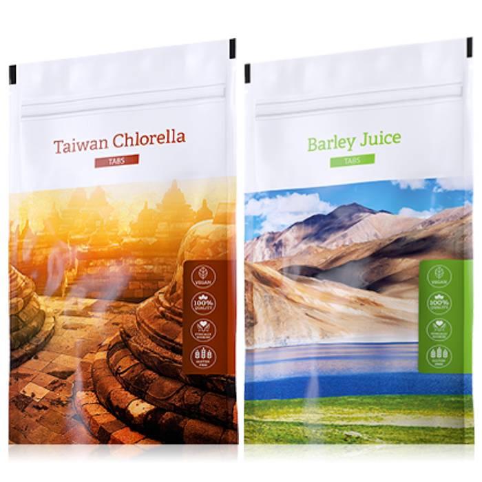Energy Organic Chlorella tabs 200 tablet + Barley Juice tabs 200 tablet