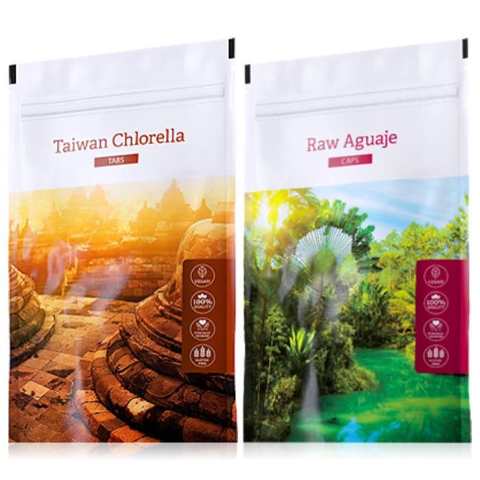 Energy Organic Chlorella tabs 200 tablet + Raw Aguaje powder 100 g