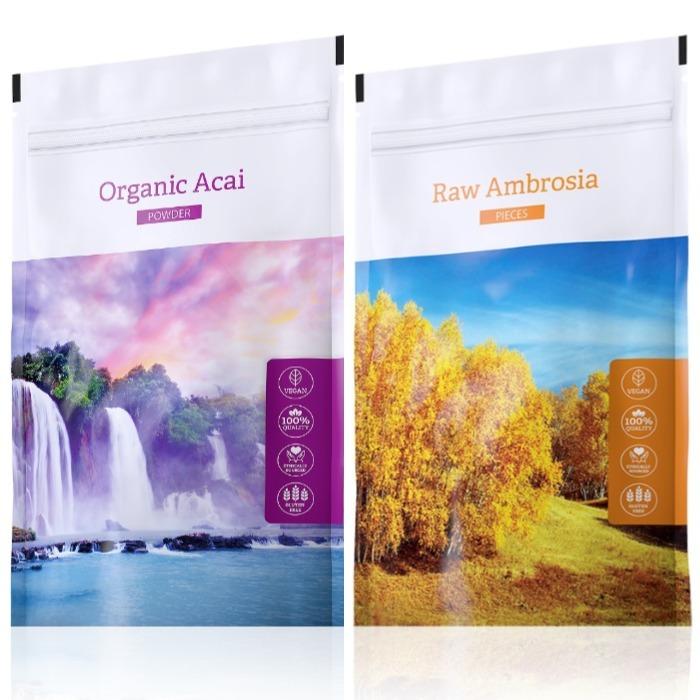 Energy Organic Acai powder 100 g + Raw Ambrosia pieces 100 g