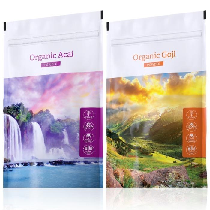 Energy Organic Acai powder 100 g + Organic Goji powder 100 g