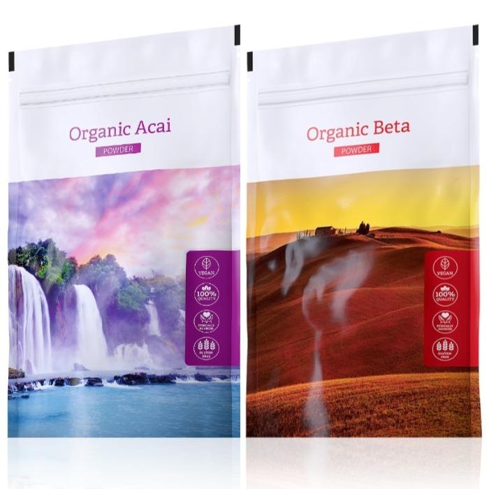Energy Organic Acai powder 100 g + Organic Beta powder 100 g