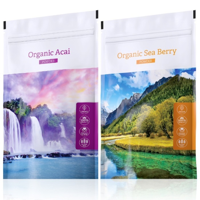 Energy Organic Acai powder 100 g + Organic Sea Berry powder 100 g