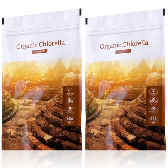 Energy Organic Chlorella powder 100 g + Organic Chlorella powder 100 g