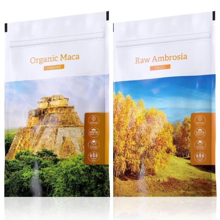 Energy Organic Maca powder 100 g + Raw Ambrosia pieces 100 g