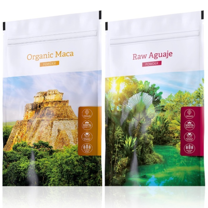 Energy Organic Maca powder 100 g + Raw Aguaje powder 100 g