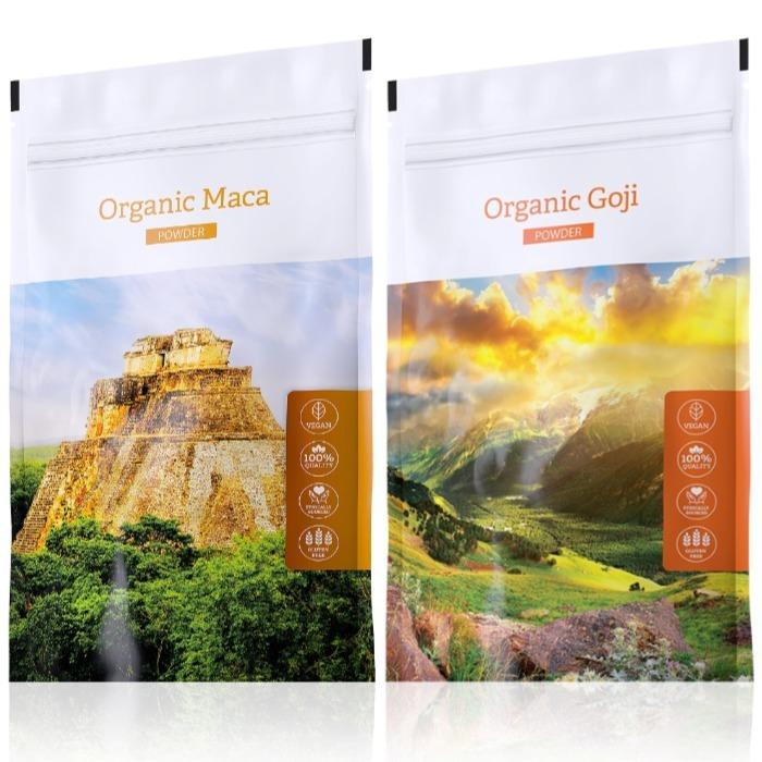 Energy Organic Maca powder 100 g + Organic Goji powder 100 g