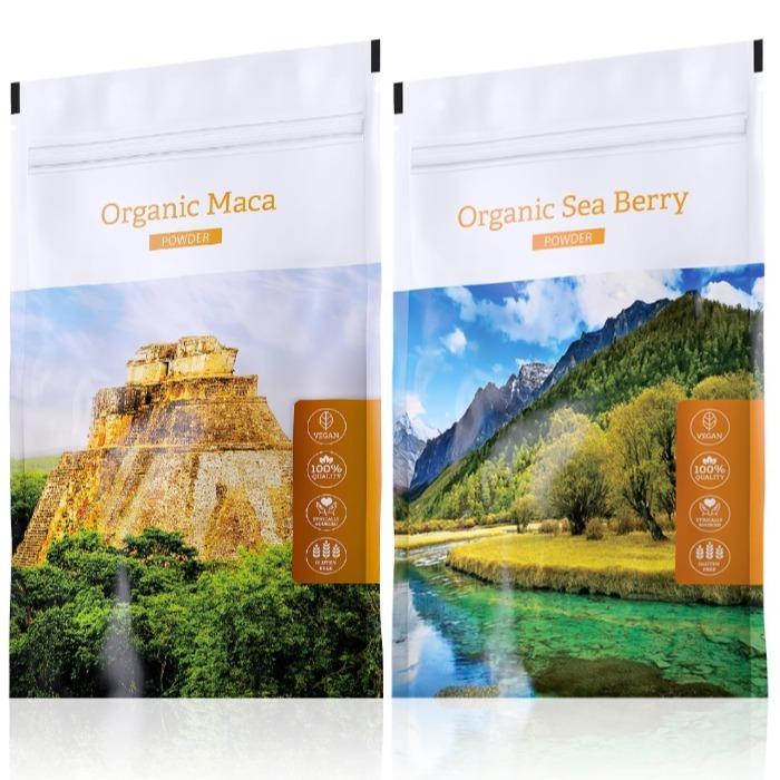 Energy Organic Maca powder 100 g + Organic Sea Berry powder 100 g