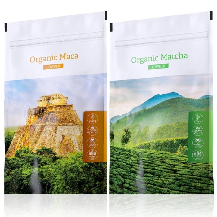Energy Organic Maca powder 100 g + Organic Matcha powder 50 g