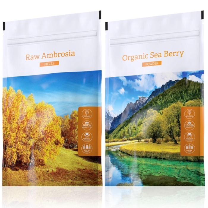 Energy Raw Ambrosia pieces 100 g + Organic Sea Berry powder 100 g