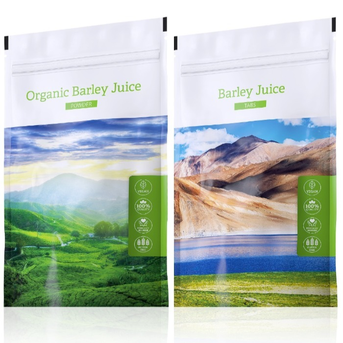 Energy Organic Barley Juice powder 100 g + Barley Juice tabs 200 tablet