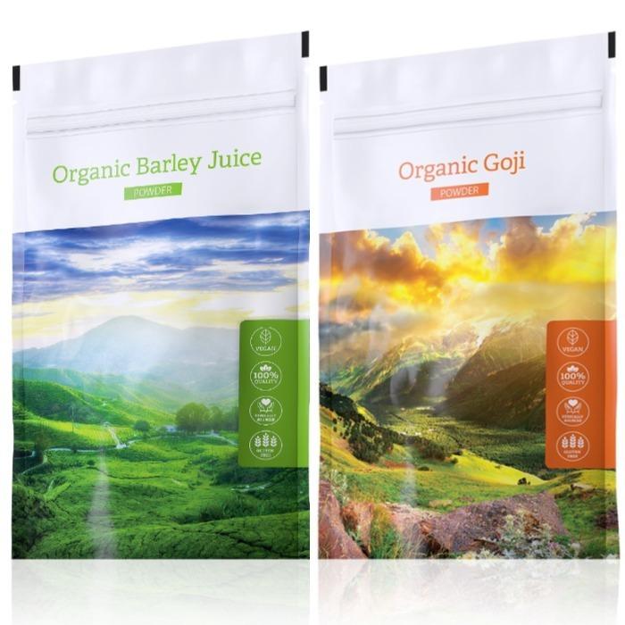 Energy Organic Barley Juice powder 100 g + Organic Goji powder 100 g