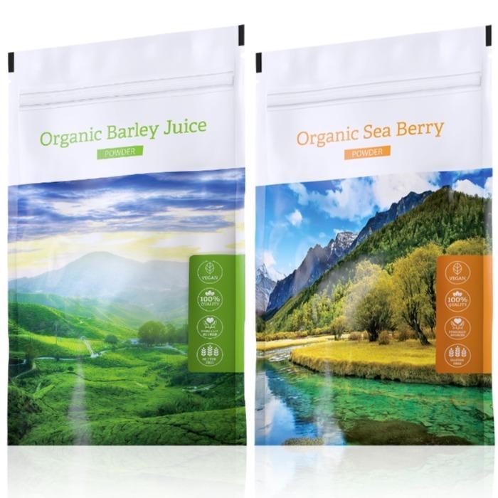 Energy Organic Barley Juice powder 100 g + Organic Sea Berry powder 100 g