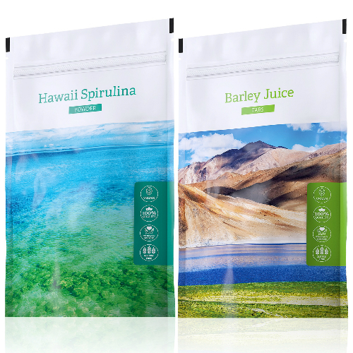Energy Hawaii Spirulina tabs 200 tablet + Barley Juice tabs 200 tablet