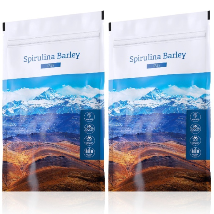 Energy Spirulina Barley tabs 200 tablet + Spirulina Barley tabs 200 tablet
