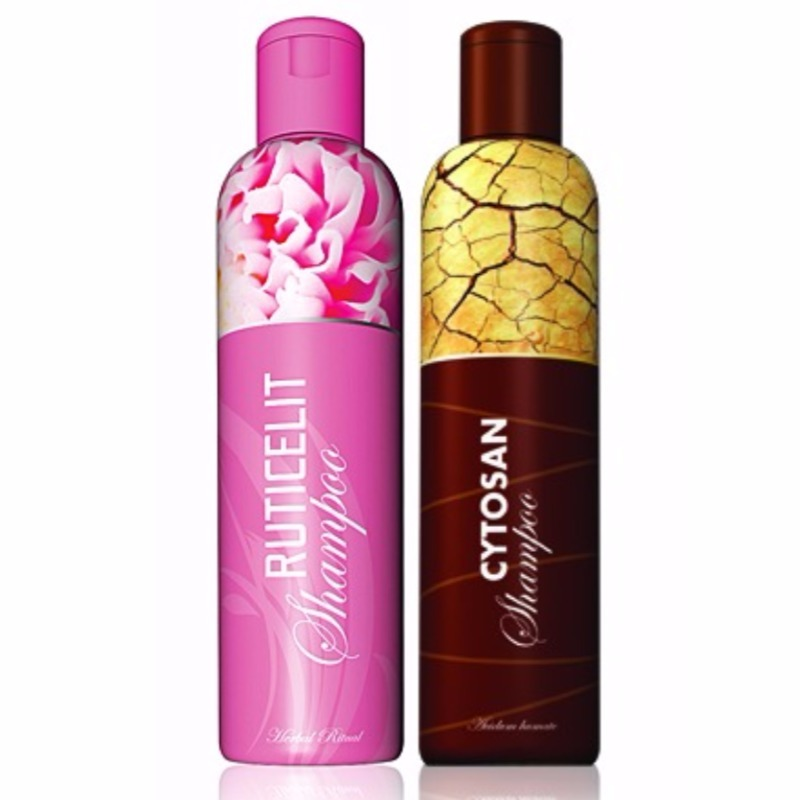 Energy Šampon Ruticelit 200 ml + Šampon Cytosan 200 ml