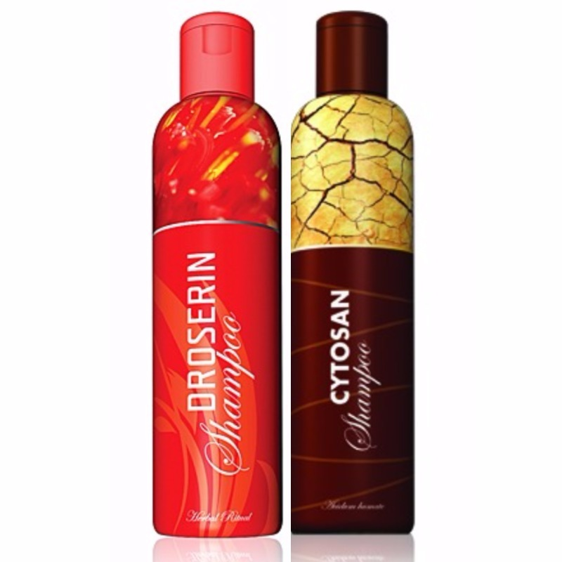 Energy Šampon Droserin 200 ml + Šampon Cytosan 200 ml
