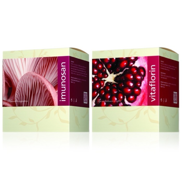Energy Imunosan 90 kapslí + Vitaflorin 90 kapslí