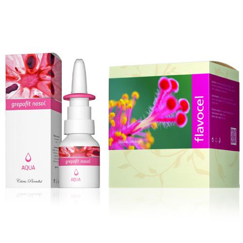 Energy Grepofit Nosol Aqua 20 ml + Flavocel 150 tablet