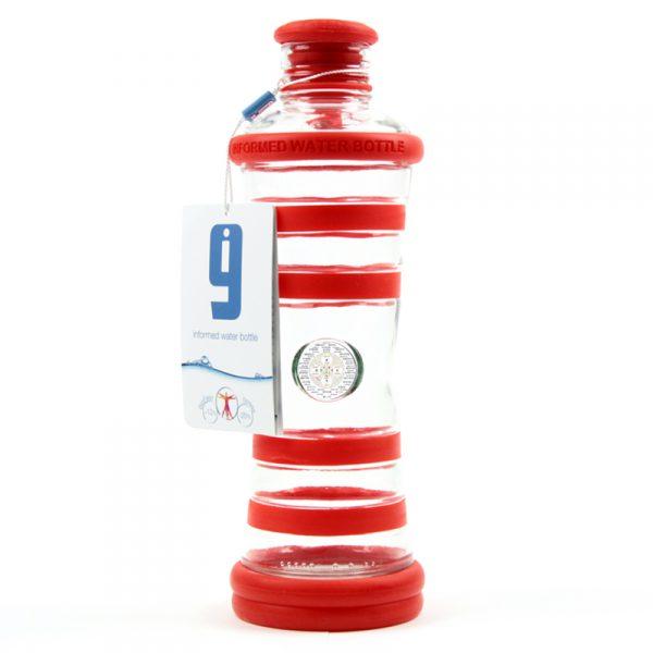i9 informovaná láhev červená - 1. čakra