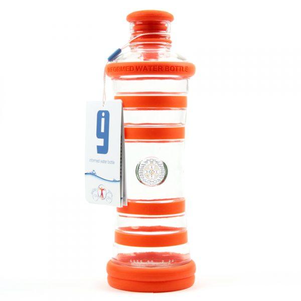 i9 informovaná láhev oranžová - 2. čakra