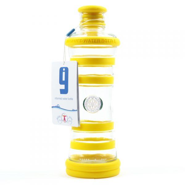 i9 informovaná láhev žlutá - 3. čakra