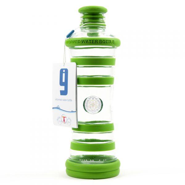 i9 informovaná láhev zelená - 4. čakra