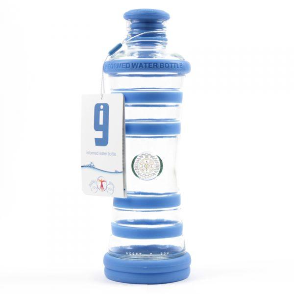 i9 informovaná láhev modrá - 5. čakra