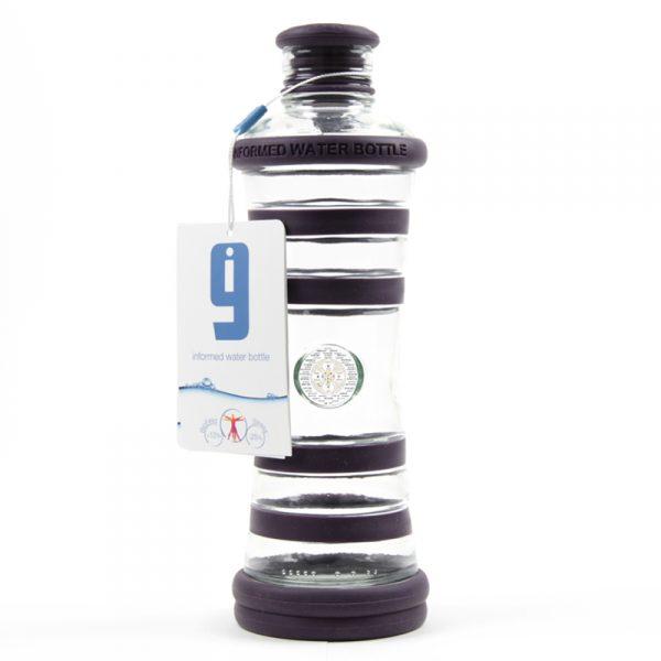 i9 informovaná láhev indigo - 6. čakra