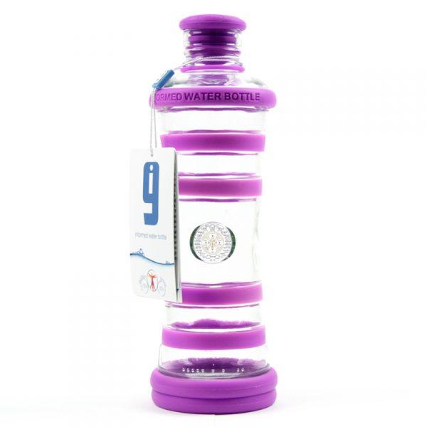 i9 informovaná láhev fialová - 7. čakra