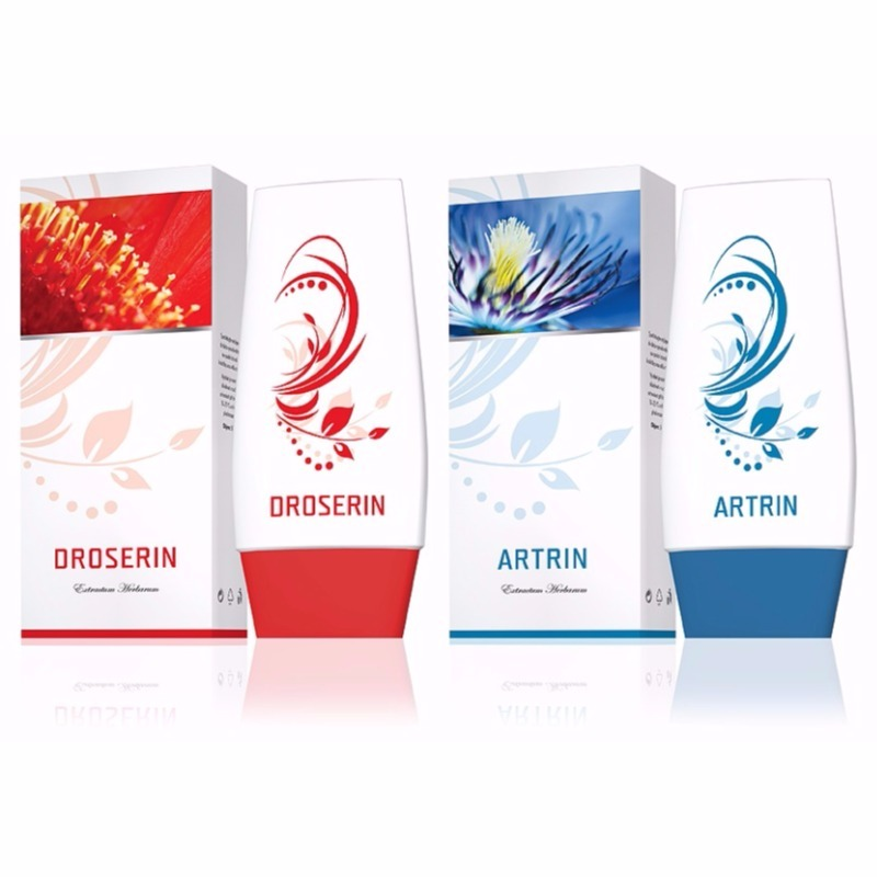 Energy Krém Droserin 50 ml + Krém Artrin 50 ml