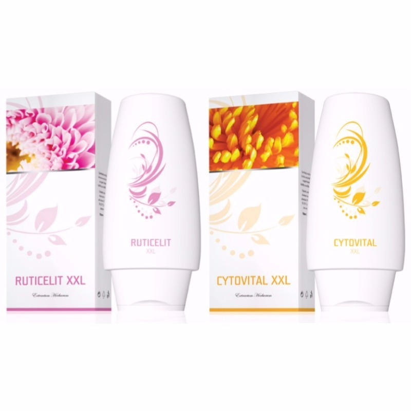 Energy Krém Ruticelit XXL 250 ml + Krém Cytovital XXL 250 ml