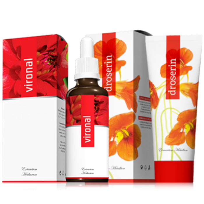 Energy Vironal 30 ml + Droserin 50 ml