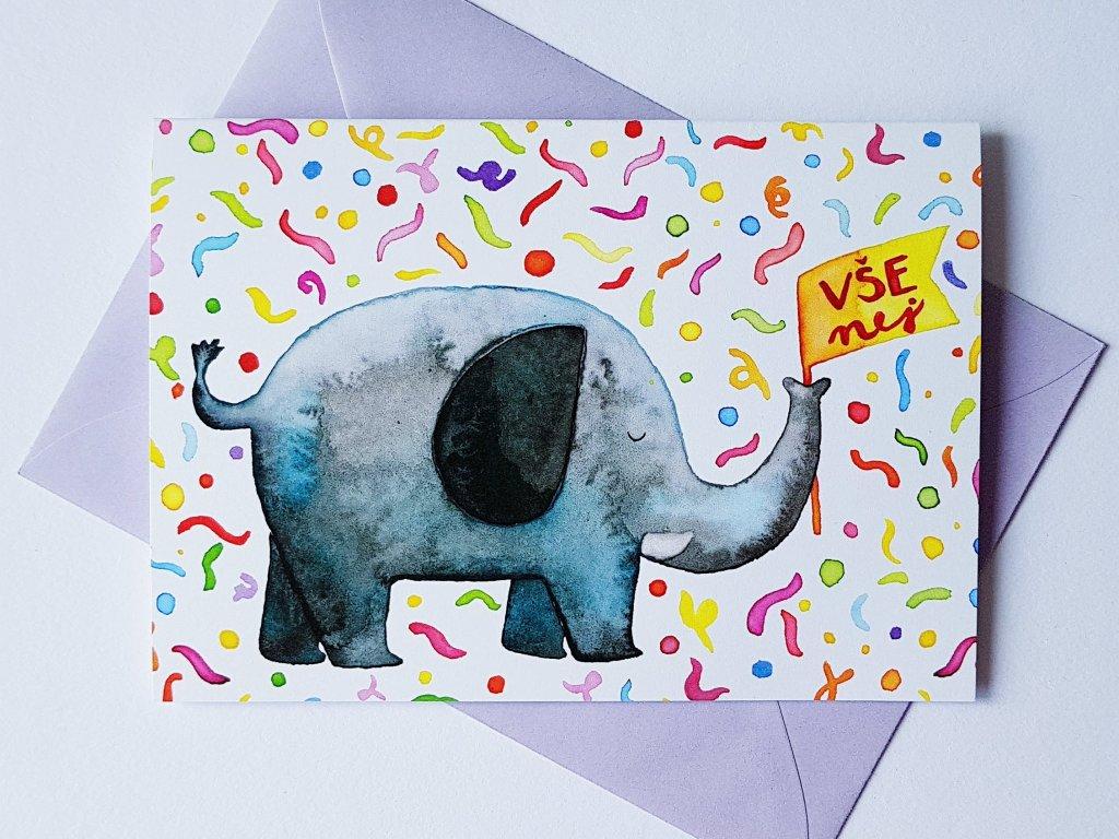 slon vše nej přání