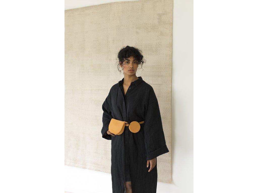 1601369 Monk & Anna style Toho belt bag Honey 02