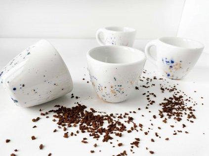 Espresso hrníček z porcelánu