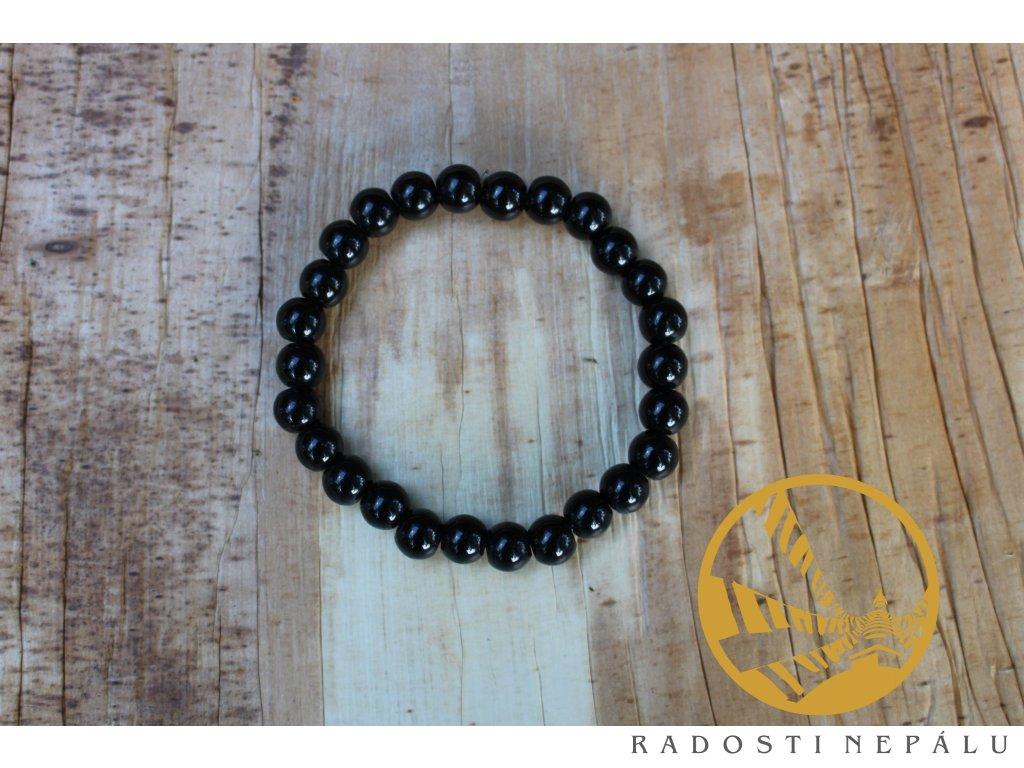 Náramek onyx černý