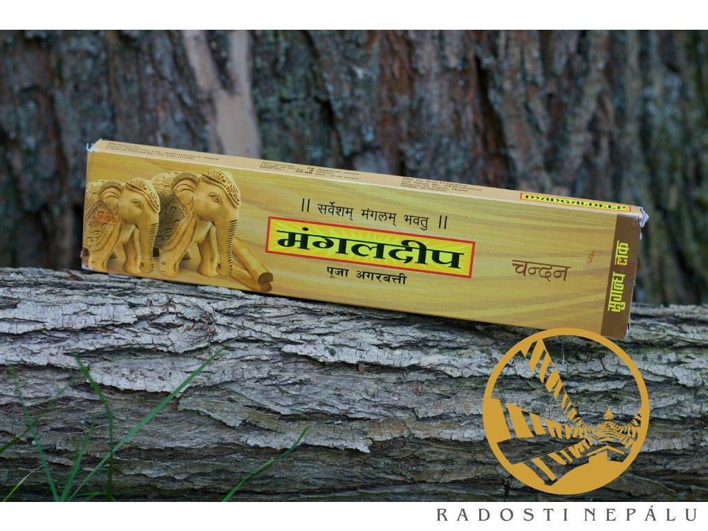 Vonné tyčinky Santalové dřevo