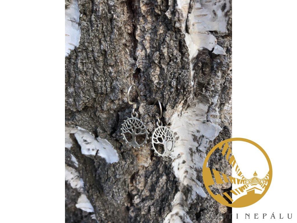 Náušnice strom života